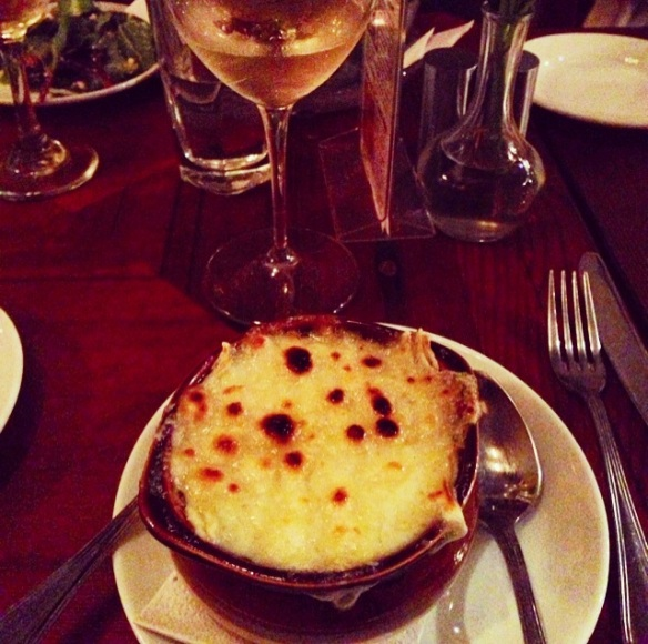 Cafe Triskell French Onion Soup