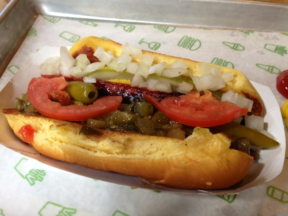 WIAW Shake Shack hot dog