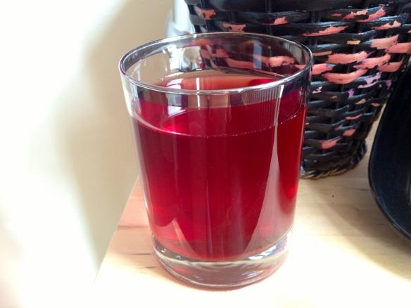 Lo juice with aloe