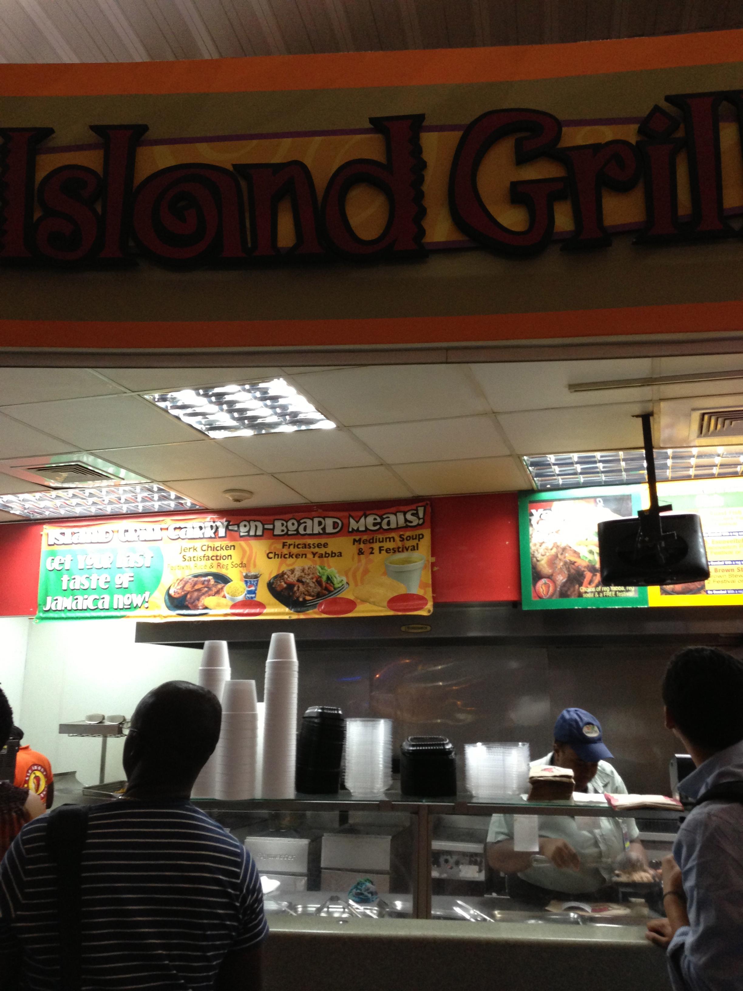 Island Grill Kingston Airport Jamaica