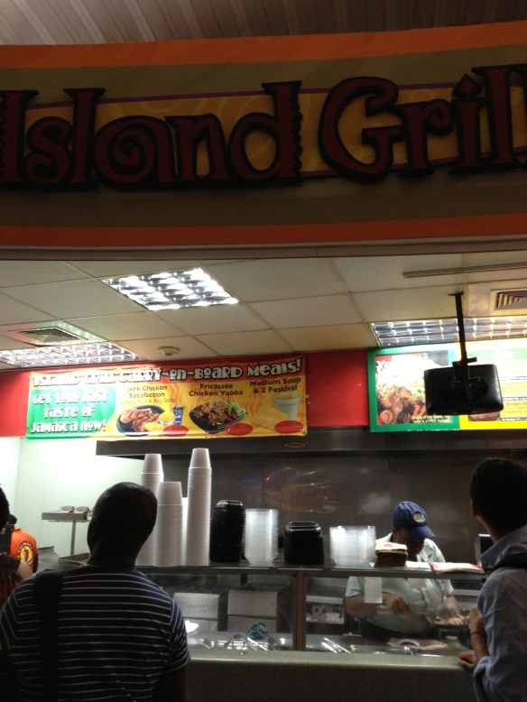 Island Grill Kingston Airport Jamaica