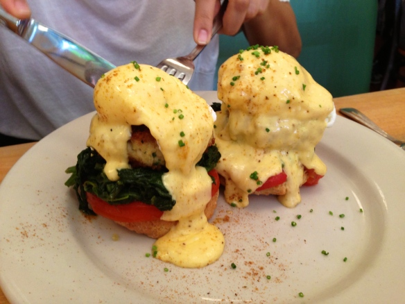 Brunch at Clinton St. Baking Co. NYC