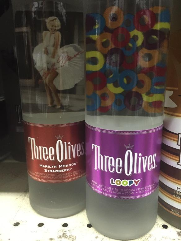strange vodka flavors